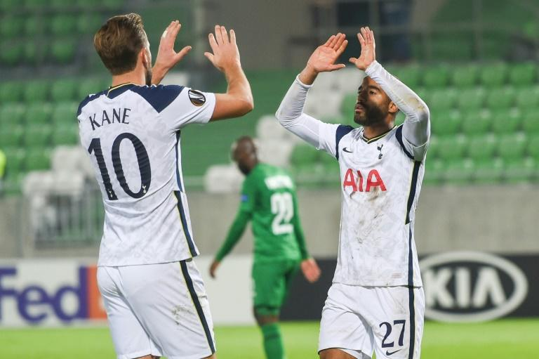 Harry Kane and Lucas Moura were both on the mark for Tottenham