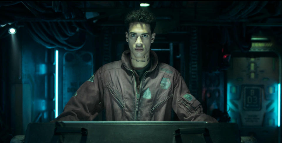 """A scene from """"The Expanse"""" season 3, episode 5 on Amazon Prime Video."""