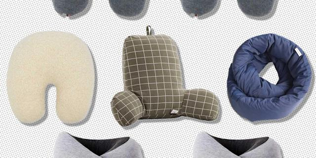 FYLINA Memory Foam Travel Pillow With
