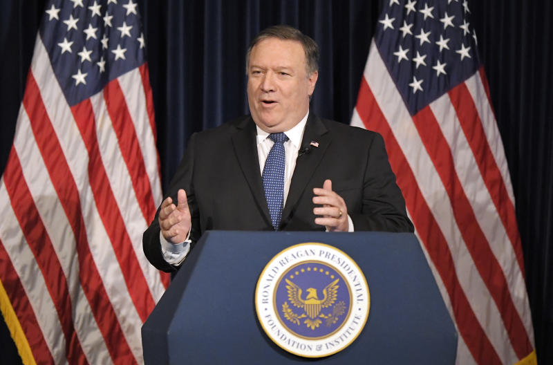 USA  not 'afraid to tackle' Iran regime at 'highest level': Pompeo