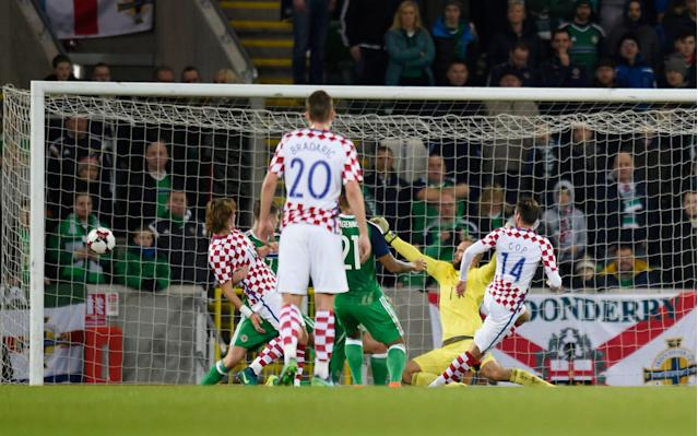 <span>Northern Ireland lost 3-0 at home to Croatia in their last World Cup qualifer</span> <span>Credit: Reuters </span>