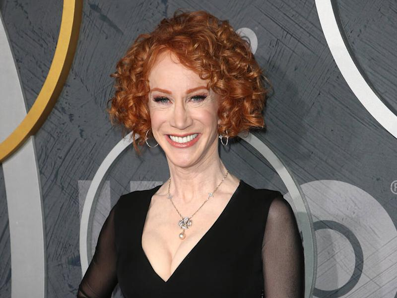 Kathy Griffin weds boyfriend during New Year's Eve celebrations