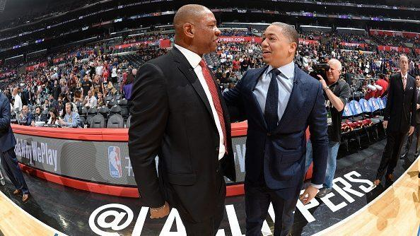 Tyronn Lue is close to battling LeBron's Lakers