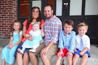"""<p>Although Josh and Anna kept a low profile in the months following the scandal that surrounded their family, he slowly began returning to the public eye in fall of 2016.</p> <p>They did <a href=""""https://people.com/tv/josh-anna-duggar-expecting-fifth-child-two-years-after-scandal-rocked-marriage/"""" rel=""""nofollow noopener"""" target=""""_blank"""" data-ylk=""""slk:address the impact of Josh's scandals in a late 2017 blog post"""" class=""""link rapid-noclick-resp"""">address the impact of Josh's scandals in a late 2017 blog post</a> — and revealed they were expecting baby No. 5.</p> <p>""""For nearly the last two years, we have quietly worked to save our marriage, focus on our children, and rebuild our lives together as a family. Doing so is never easy after a breach of trust,"""" the blog post began.</p> <p>""""We've learned that a life of faith and rebuilding a life together is simply done one day at a time,"""" the post continued.</p> <p>""""As we continue our journey as a family and rebuild our lives, we are delighted to share with you that we are expecting a new baby boy later this year. Beauty comes from ashes and we cannot wait to see and kiss the face of this sweet new boy!"""" Josh and Anna signed the post.</p>"""