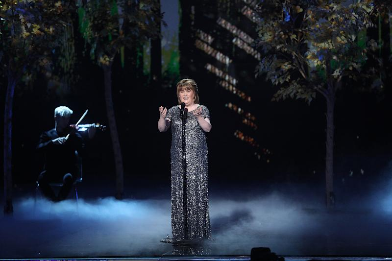 Susan Boyle Didn't Think She'd Win AGT: Champions