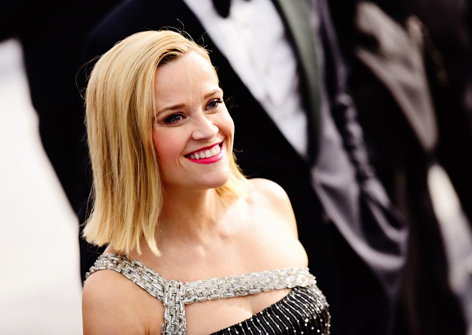 LOS ANGELES, CALIFORNIA - JANUARY 19:  Actress Reese Witherspoon attends the 26th annual Screen ActorsGuild Awards at The Shrine Auditorium on January 19, 2020 in Los Angeles, California. (Photo by Chelsea Guglielmino/Getty Images)