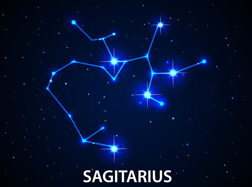 Illustration of Set of Symbol Zodiac Sagitarius