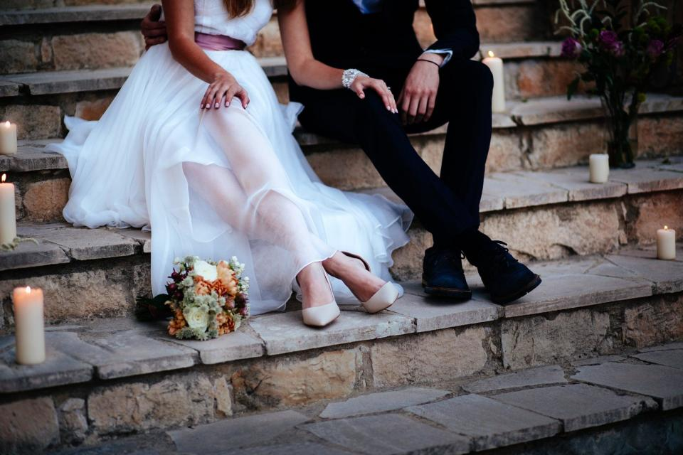 An estimated 264,000  264,000 would-be-newlyweds postponed or cancelled their big days in 2020, according to the Wedding Task ForceGetty Images