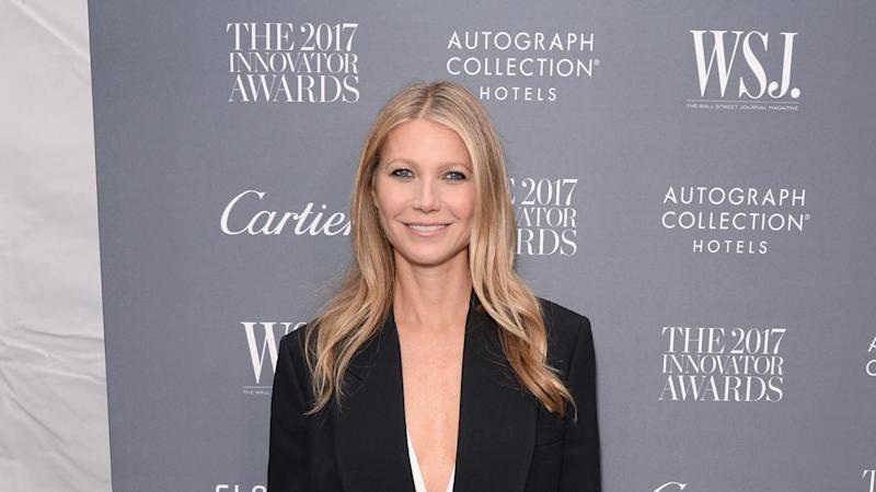 Gwyneth Paltrow Shares Sweet Pic of Fiance Brad Falchuk and Ex Chris Martin: 'Modern Family'