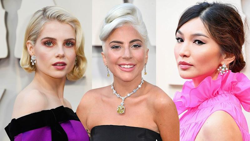 ET breaks down the best hair and makeup looks from Sunday's red carpet.