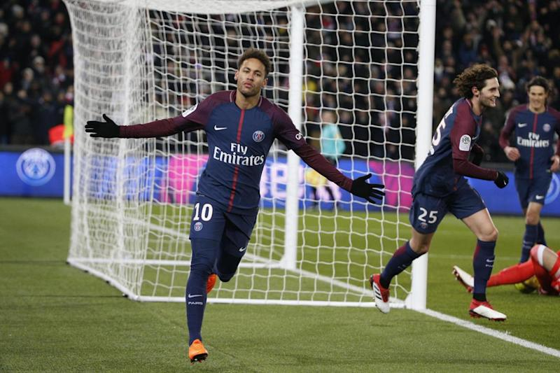 PSG star: Neymar (AFP/Getty Images)