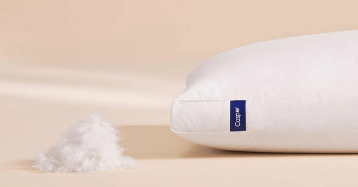 Casper Down pillow: 10 percent off. (Photo: Casper)