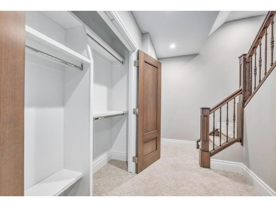 <p><span>616 3 Avenue Northwest, Calgary, Alta.</span><br> The finished basement has plenty of space for storage and recreation.<br> (Photo: Zoocasa) </p>