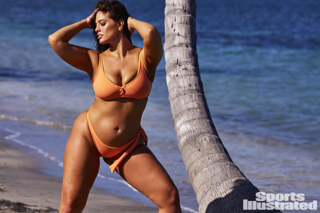 "<p>Ashley Graham was photographed by Josie Clough in Nevis. Swimsuit by <a href=""http://www.tavik.com"" rel=""nofollow noopener"" target=""_blank"" data-ylk=""slk:TAVIK"" class=""link rapid-noclick-resp"">TAVIK</a>.</p>"
