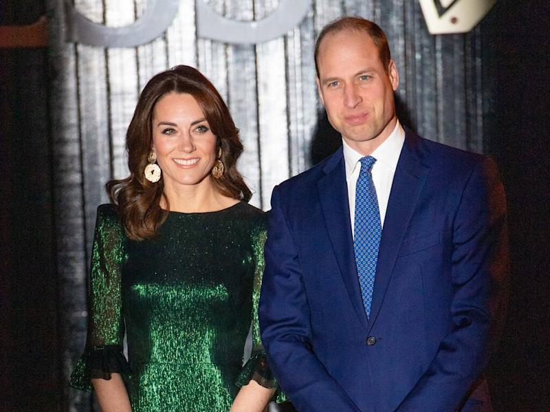 Catherine, Duchess of Cambridge dazzles in emerald green at Irish event