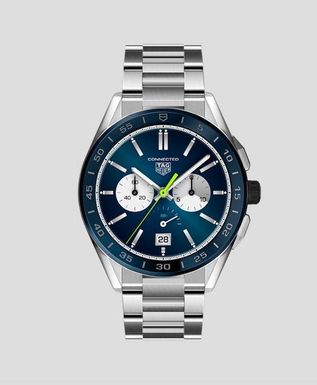 "<p><a class=""link rapid-noclick-resp"" href=""https://www.tagheuer.com/gb/en/smartwatches/collections/tag-heuer-connected/45-mm/SBG8A11.BA0646.html#start=0.0"" rel=""nofollow noopener"" target=""_blank"" data-ylk=""slk:SHOP NOW"">SHOP NOW</a></p><p>With all of the traditional style of a sporty wristwatch, plus the tech you'd expect from a cutting edge smart-watch - including a new Wellness app that tracks your activity and fitness levels - Tag Heuer's Connected blends the best of both worlds. </p><p>Connected watch, £1,650, <a href=""https://www.tagheuer.com/gb/en/smartwatches/collections/tag-heuer-connected/45-mm/SBG8A11.BA0646.html#start=0.0"" rel=""nofollow noopener"" target=""_blank"" data-ylk=""slk:Tag Heuer"" class=""link rapid-noclick-resp"">Tag Heuer</a></p>"