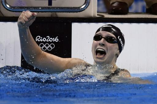 Ledecky smashes world record to win 400m freestyle gold
