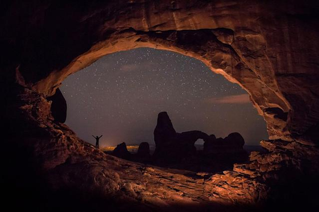 """<p>""""I've been working on a time-lapsed film called 'Illusion of Lights: A Journey Into the Unseen' for the past five years."""" (Photo: Brad Goldpaint/Caters News) </p>"""