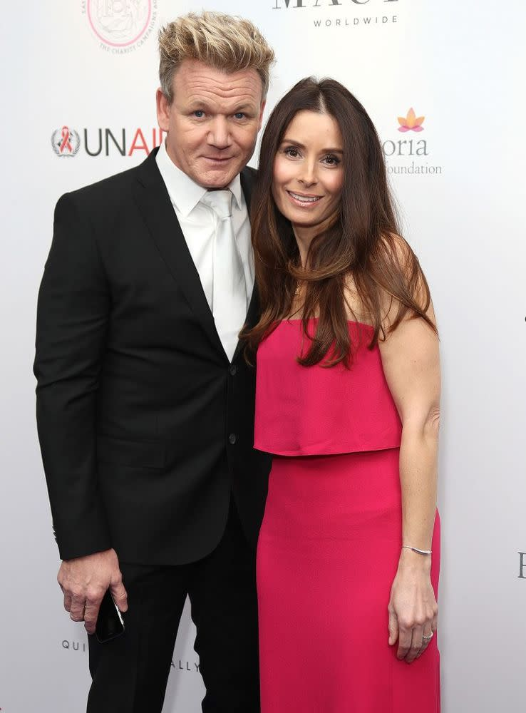 Gordon Ramsay and wife Tana in November 2016