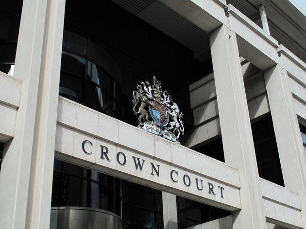 Exterior of Kingston Crown Court where the parents of an 18-year-old stand accused of controlling or coercive behaviour and one count of making a threat to kill (file photo).