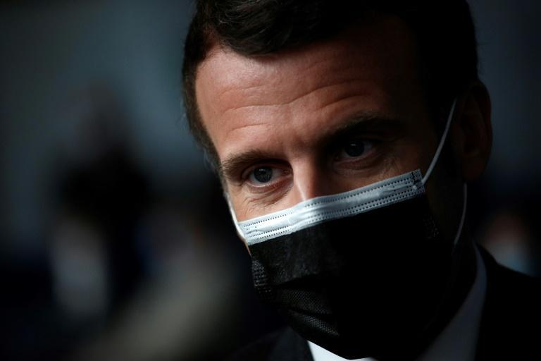 """""""We are looking at a new type of world war,"""" Macron said"""