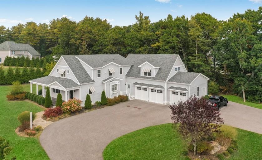 Built in 2013, the 5,100-square-foot home includes five bedrooms, four bathrooms and a basement with a bonus room.