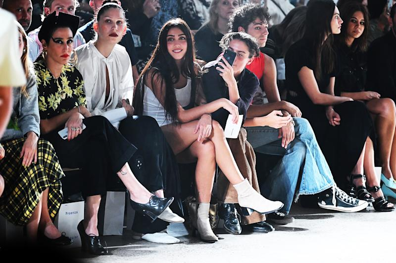 NEW YORK, NEW YORK - SEPTEMBER 10: Lourdes Leon attends the front row for Proenza Schouler during New York Fashion Week: The Shows on September 10, 2019 in New York City. (Photo by Jamie McCarthy/Getty Images for NYFW: The Shows)