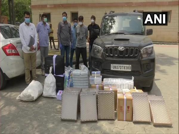 Delhi Police Crime Branch busted an interstate gang that produced fake Remdesivir, and arrested 7 people (Photo/ANI)
