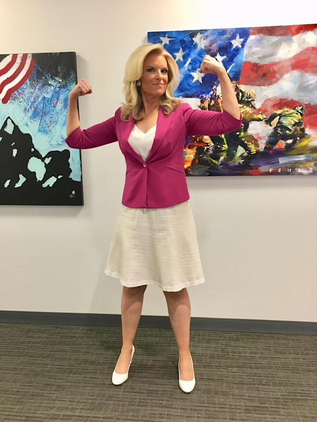 When Fox News meteorologist Janice Dean, who has multiple sclerosis, was body-shamed, she fired back. (Photo: Courtesy of Fox News)
