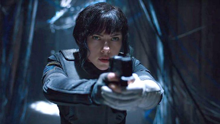 Ghost In The Shell Reveals Scarlett Johansson In Iconic Suit