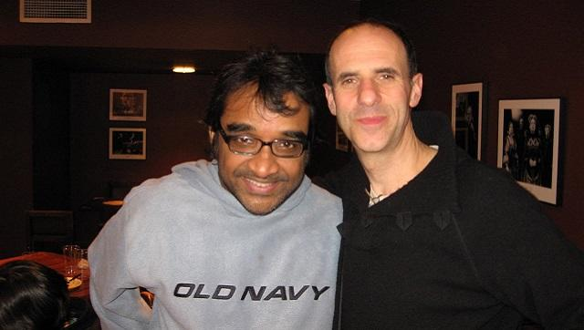 Aporup Acharya and Tim Supple at the Chicago Shakespeare Theatre, December 2008. Image courtesy the writer
