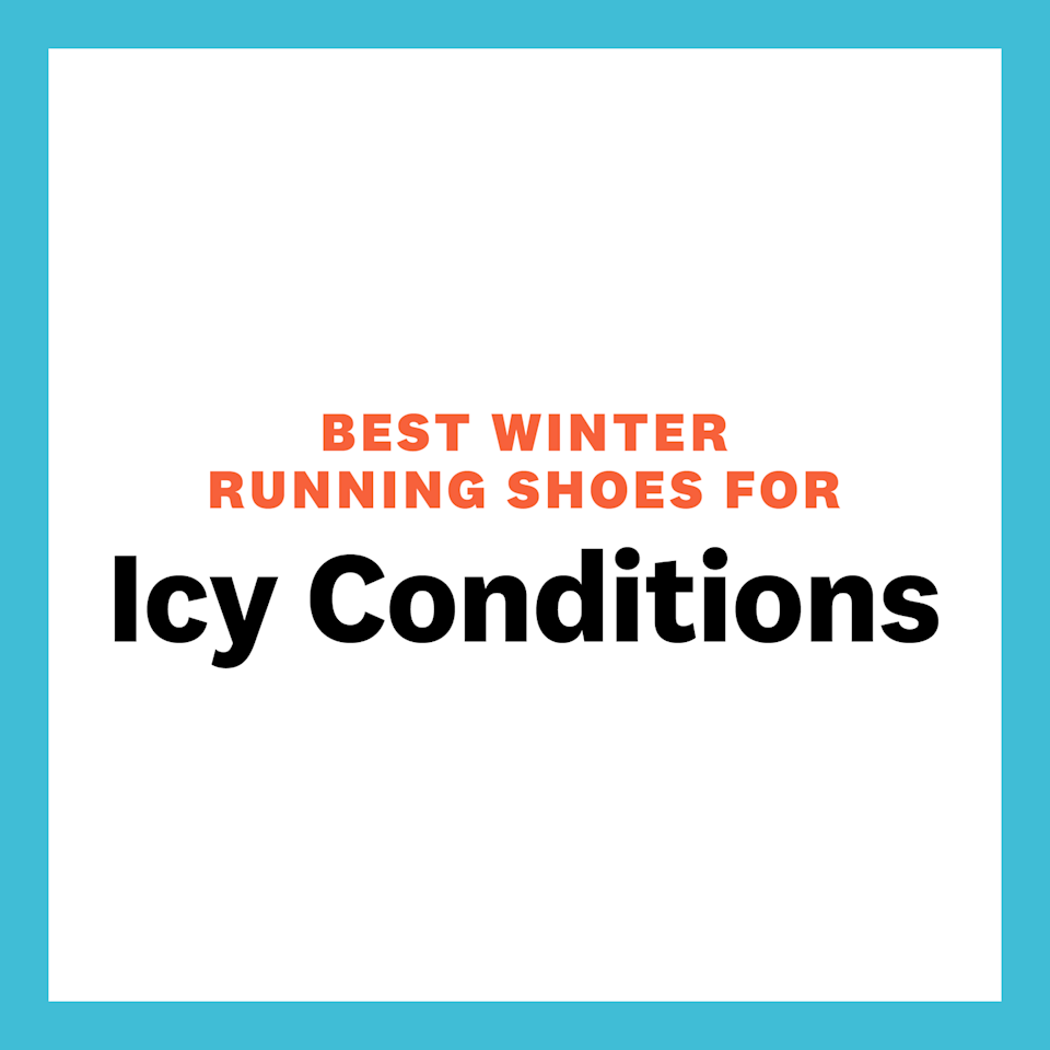 """<p>When treading over ice, your main concern is slipping, so you want running shoes that are going to offer an insane grip. """"If you're brave enough to venture out on the ice, you're going to want shoes with studs or spikes,"""" says Romano. """"You can purchase shoes with integrated spikes or there are also a few products out there that allow you to screw spikes into an existing pair of shoes."""" </p>"""
