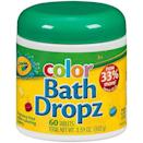 <p>These <span>Crayola Color Bath Dropz</span> ($9) make washing up much more fun. </p>