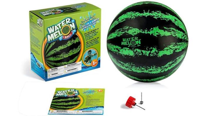 Enjoy hours of pool fun with this fruit-shaped ball.