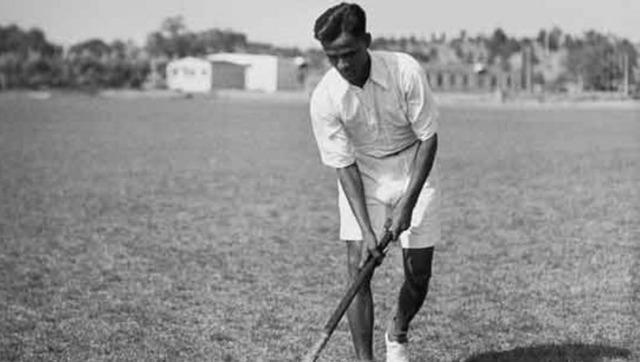 File image of Indian hockey icon Dhyan Chand. Twitter