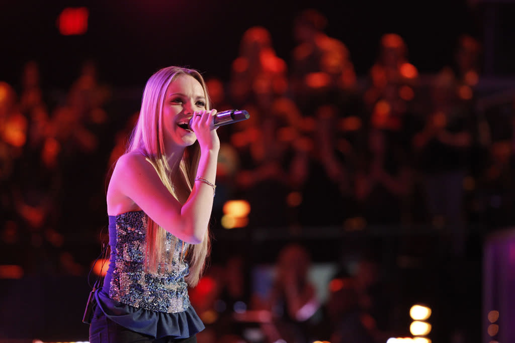 "Danielle Bradbery performs ""Born to Fly"" on ""The Final Live Performances"" episode of ""The Voice"" Season 4."
