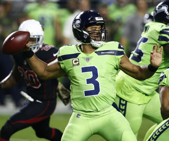 The Seahawks will likely be punished after not following concussion protocol for quarterback Russell Wilson. (AP)