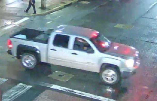 PHOTO: A 21-year-old woman was sexually assaulted by a man posing as a ride-share driver in Newark, Del., on Saturday, May 4, 2019. The suspect was driving a silver GMC pickup truck. (Newark Police Department)