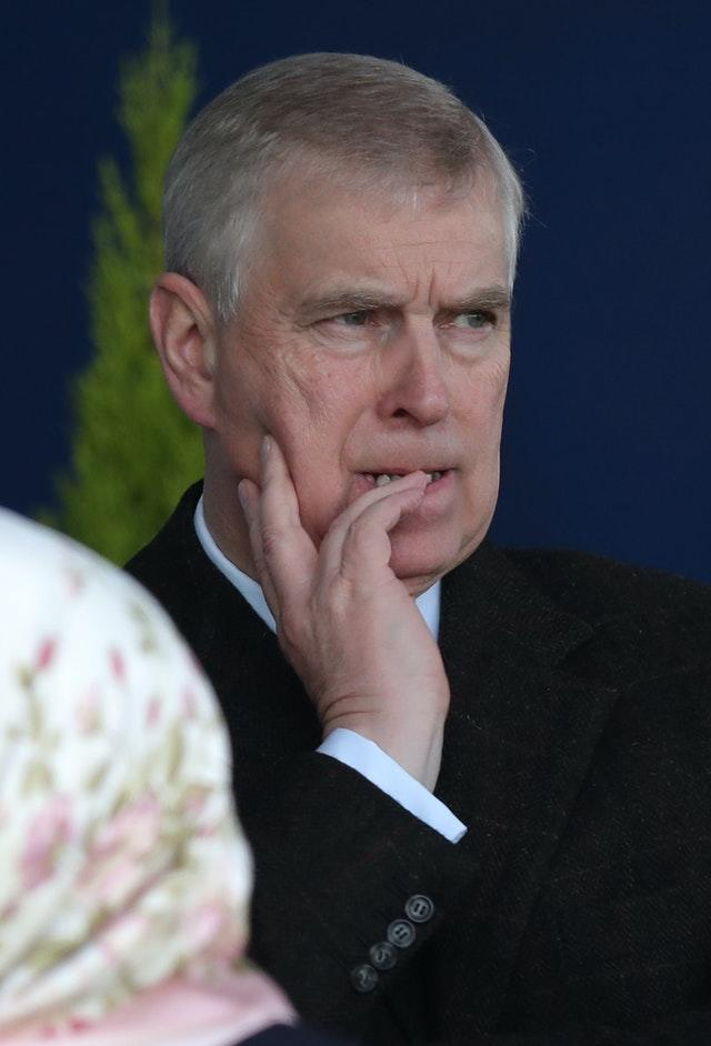 The Duke of York has stepped down from royal life in the wake of a TV interview about Epstein. Andrew Matthews/PA Wire