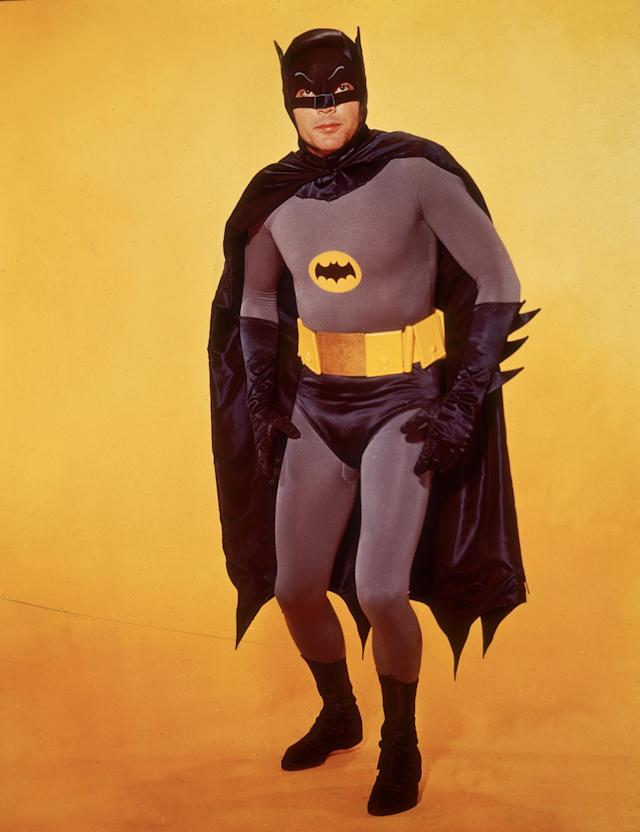 "<p>Known for his portrayal of ""Batman"" in the 1960s series and movie, West died on June 9 at age 88. (Photo: Hulton Archive/Getty Images) </p>"