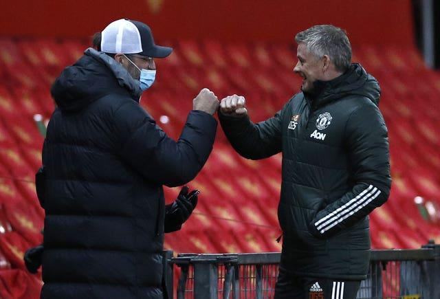 Jurgen Klopp and Ole Gunnar Solskjaer will be hoping to get the upper hand in the final clash between Liverpool and Manchester United this season.