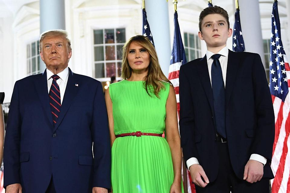 trump family at the republican national convention august 2020