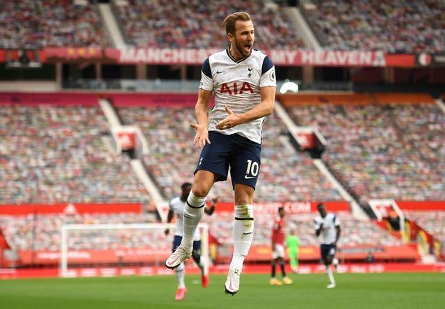 Harry Kane scored twice as Spurs enjoyed a rare successful outing at Old Trafford