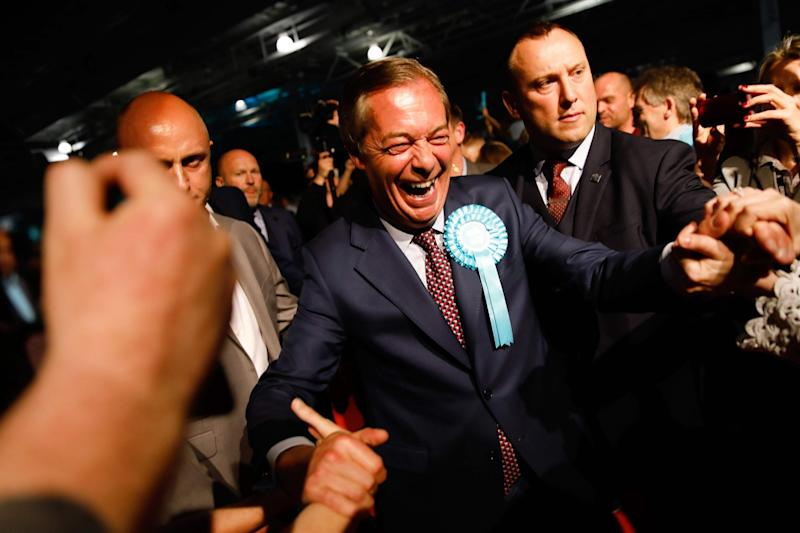 Brexit Party leader Nigel Farage (AFP/Getty Images)