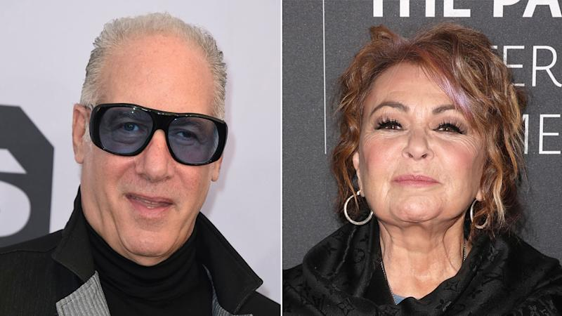 Andrew Dice Clay and Roseanne Barr announce