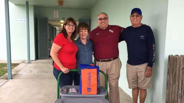PHOTO: Harry Russell, principal of Sugarloaf School in Summerland Key, rose to the occasion as the community worked to rebuild. (Facebook/Sugarloaf School)