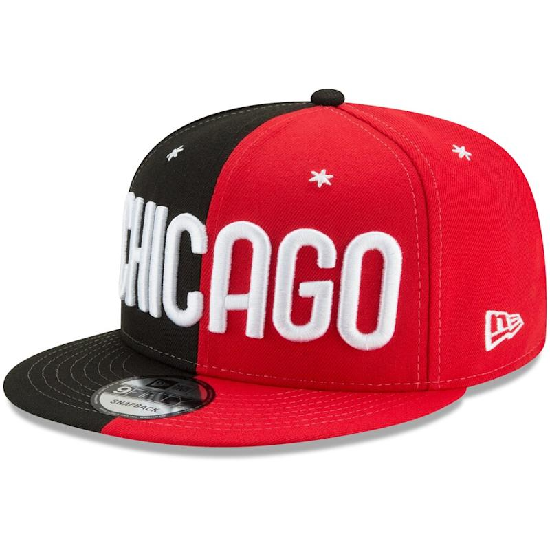 2020 NBA All-Star Game Split Snapback Hat
