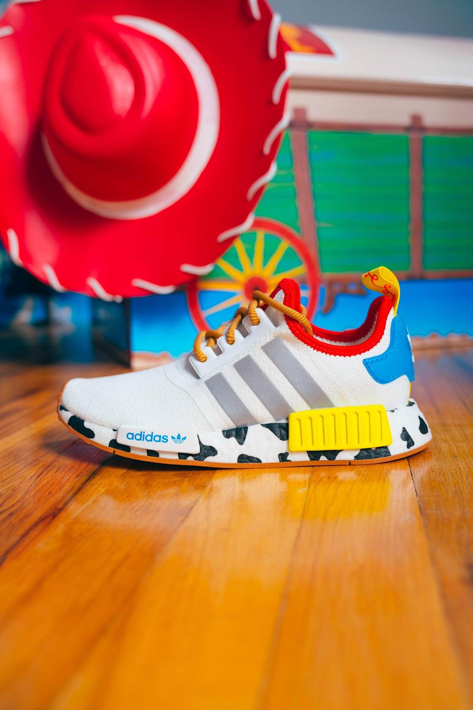 <p>We have a feeling our favorite cowgirl would approve of these Adidas Jessie x NMD Shoes.</p>