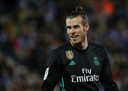 Soccer Football - La Liga Santander - Leganes vs Real Madrid - Butarque Municipal Stadium, Leganes, Spain - February 21, 2018 Real Madrid's Gareth Bale REUTERS/Susana Vera