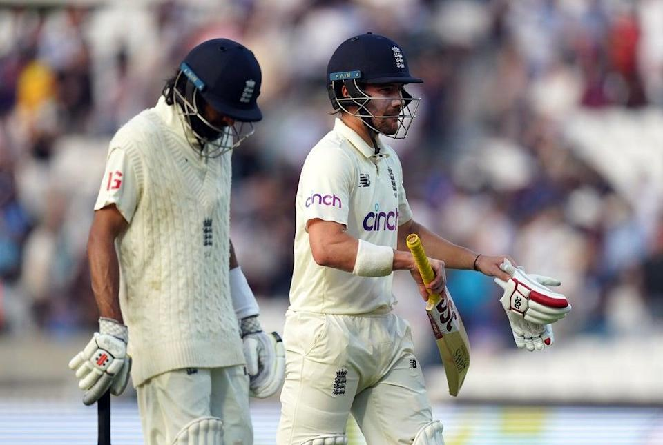 Haseeb Hameed and Rory Burns set a solid platform for England (Adam Davy/PA) (PA Wire)